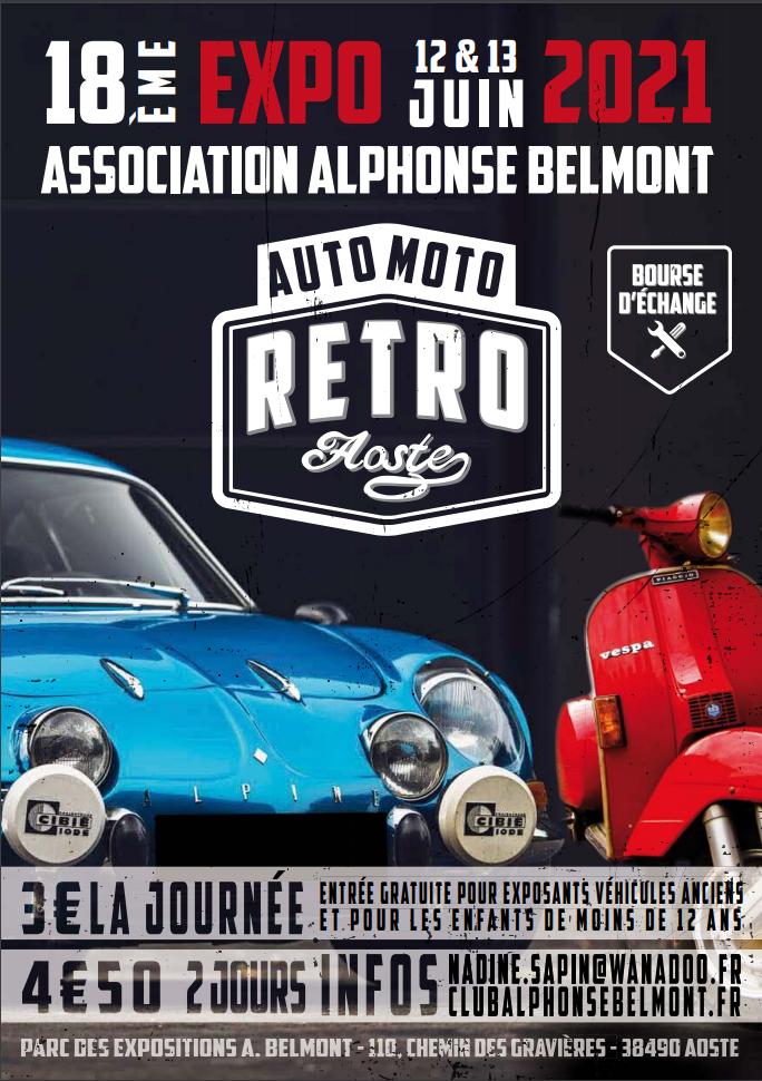 Affiche auto moto 2021