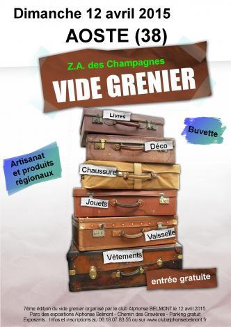 Affiche vide grenier 20150412 light