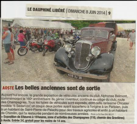 Article 08 juin 2014 expo